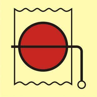 FA054 - Urządzenie do wewnętrznego zamknięcia wentylacji - znak morski