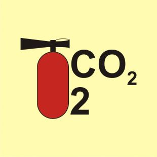 FA068 - Gaśnica śniegowa CO2/2 - znak morski