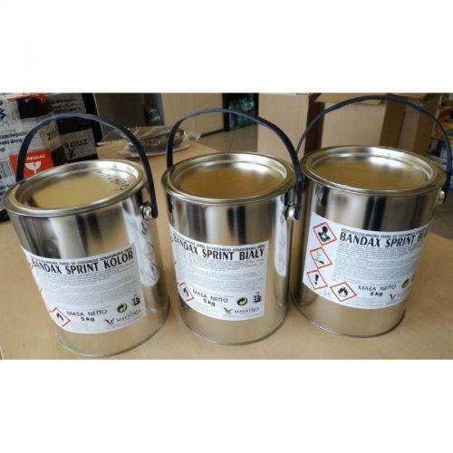 Farba drogowa Bandax Sprint 30kg - biała - Oznakowanie poziome – szablony i farby