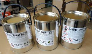 Farba drogowa Bandax Sprint 5kg - różne kolory RAL