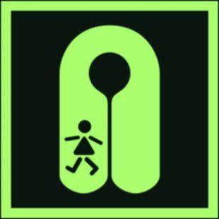 FB046 - Kamizelka ratunkowa dla dzieci - znak morski