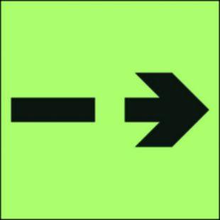 FB067 - Zapasowa droga ewakuacyjna - znak morski