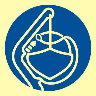 FC010 - Zwolnić zabezpieczenie sztormowe - znak morski