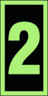 FE003 - Numer stacji ewakuacyjnych 2 - znak morski