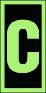 FE013 - Symbol stacji ewakuacyjnych C - znak morski