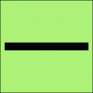 FI001 - Oznaczenie kategorii A - znak morski