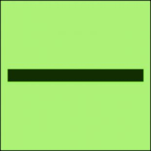 FI002 - Oznaczenie kategorii B - znak morski