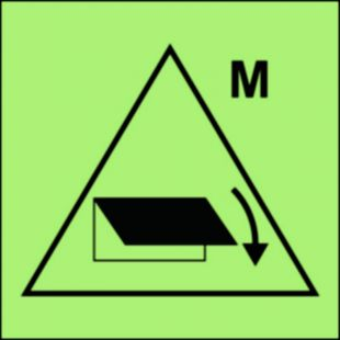 FI044 - Zdalne sterowanie zamykaczy wlotu/wylotu wentylacyjnego (obszar maszynowy) - znak morski