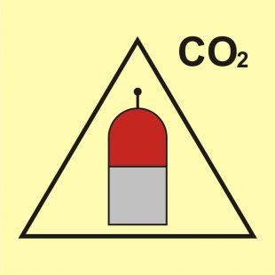 FI058 - Stanowisko zdalnego uwalniania (CO2-dwutlenek węgla) - znak morski