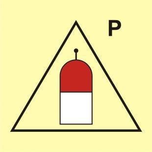 FI061 - Stanowisko zdalnego uwalniania (P-proszek) - znak morski