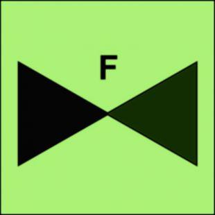 FI069 - Zawór odcinka pianowego - znak morski