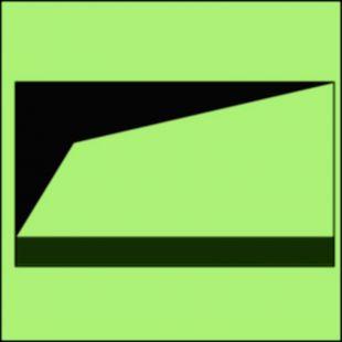 FI088 - Przewód do dostarczania piany o dużej rozszerzalności (przyłącze) - znak morski