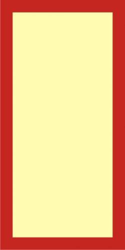 Fotoluminescencyjna plansza naścienna oświetlająca gaśnicę - znak przeciwpożarowy ppoż - BC200 - Znaki uzupełniające ochrony przeciwpożarowej