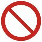 GAP001 - Ogólny znak zakazu