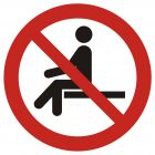 GAP018 - Zakaz siadania