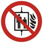GAP020 - Zakaz używania windy w razie pożaru