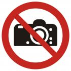 GAP029 - Zakaz fotografowania - znak bhp zakazujący