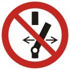 GAP031 - Nie przełączaj - znak bhp zakazujący