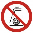GAP033 - Zakaz szlifowania na mokro - znak bhp zakazujący