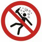 GAP043 - Zakaz wstępu osobom nietrzeźwym - znak bhp zakazujący