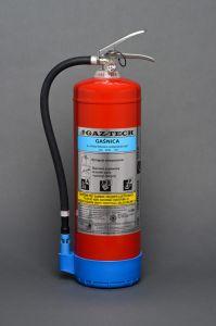 Gaśnica płynowa 6l (GW-6X/ABF) - Podręczny sprzęt gaśniczy – rodzaje