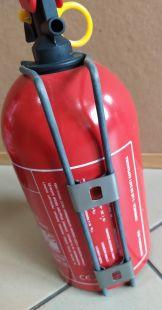 Gaśnica proszkowa 1kg B/C - Gaz-Tech GP-1Z - samochodowa