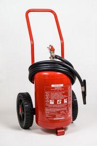 Gaśnica proszkowa 25kg ABC/E - Gaz-Tech GP 25x - Podręczny sprzęt gaśniczy – rodzaje