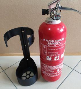 Gaśnica proszkowa 2kg ABC/E - Gaz-Tech GP-2X