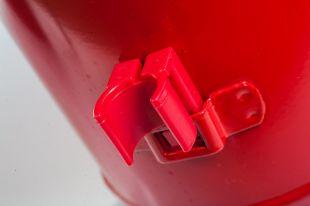 Gaśnica proszkowa 4kg ABC do 245kV, ze stopą metalową