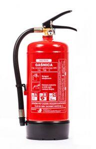 Gaśnica proszkowa 4kg ABC/E - Gaz-Tech GP-4X - Podręczny sprzęt gaśniczy – rodzaje