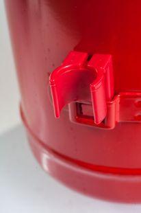 Gaśnica proszkowa 6kg ABC do 245kV, ze stopą metalową