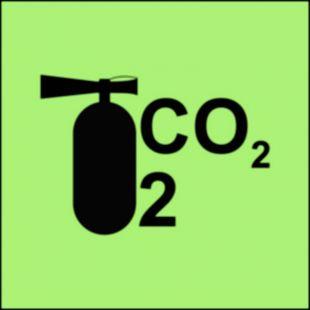 Gaśnica śniegowa CO2/2 - znak morski - FA068