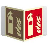 Gaśnica - znak ewakuacyjny, przestrzenny, ścienny 3D - Pożar w miejscu pracy – jak działać?