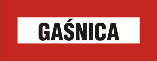 Gaśnica - znak przeciwpożarowy ppoż - BC117 - Zasady doboru gaśnic