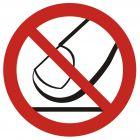 GB010 - Nie dotykać - znak bhp zakazujący