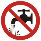 GB023 - Oszczędzaj wodę - znak bhp nakazujący