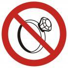 GB030 - Zakaz noszenia biżuterii w pomieszczeniach produkcyjnych