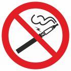 GB042 - Zakaz palenia papierosów elektronicznych - znak bhp zakazujący