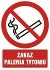 GC053 - Zakaz palenia tytoniu - znak bhp zakazujący