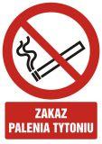 """GC053 - Zakaz palenia tytoniu - znak bhp zakazujący - """"Nie"""" dla e-papierosów w miejscach publicznych"""