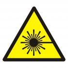 GDW004 - Ostrzeżenie przed wiązką laserową - znak bhp ostrzegający