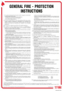 General fire - protection instructions. Instrukcja ogólna przeciwpożarowa ( wersja angielska ) - instrukcja ppoż - DB002