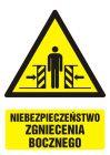 GF034 - Niebezpieczeństwo zgniecenia bocznego