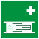 GG004 - Nosze - znak bhp informujący - Znaki BHP w miejscu pracy (norma PN-93/N-01256/03)