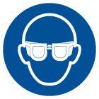 GJM004 - Nakaz stosowania ochrony oczu - znak bhp nakazujący