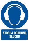GL005 - Stosuj ochronę słuchu - znak bhp nakazujący