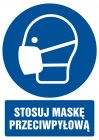GL018 - Stosuj maskę przeciwpyłową