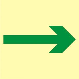 Główna droga ewakuacyjna - znak morski - FB066