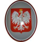 Godło Państwowe Orzeł tablica tabliczka - blacha emaliowana