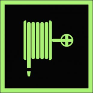 Hydrant wewnętrzny - znak przeciwpożarowy ppoż - BA006